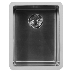 "16"" Seamless Undermount Stainless Steel Bar/Prep Sink Karran E-510"