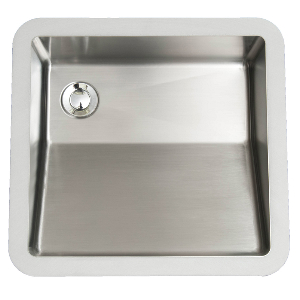 "Karran E505, Edge 17-7/8"" x 16-7/8"" Undermount Vanity Sink, Single Bowl, ADA"