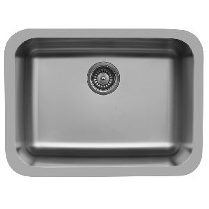 "Karran E320, Edge 24-1/2"" x 18-1/4"" Undermount Kitchen Sink, Single Bowl"
