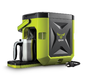 Coffeeboxx Coffee Maker, Hi Vis Green, OXX CBK250G