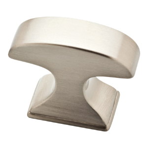"1-3/8"" Satin Nickel Knob, Classic Edge, Liberty P34931-SN-C"