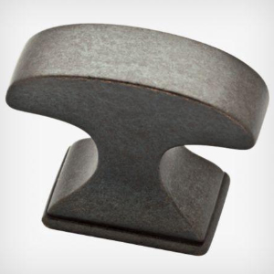 "1-3/8"" Soft Iron Knob, Classic Edge, Liberty P34931-SI-C"