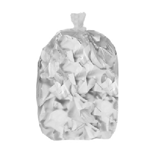 20-30 Galllon, Clear Trash Can Liners, Low Density, .7 mil, 250 Bags, Northern Safety 209893 CR