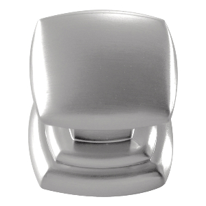 """1-1/4"""" Stainless Steel Knob, Euro-Contemporary, Hickory Hardware P3181-SS"""