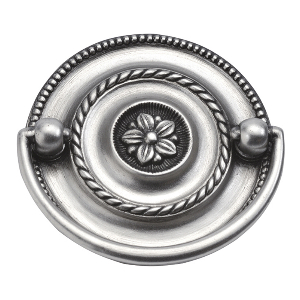 """Manor House Pull 2-1/4"""" Center to Center Silver Stone Hickory Hardware P3475-ST"""