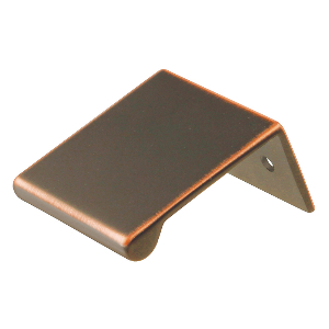 """1-3/4"""" Oil-Rubbed Bronze Highlighted Pull, Rotterdam, Hickory Hardware HH09747-OBH"""