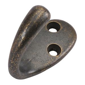 """2"""" Windover Antique Hook, Hooks, Hickory Hardware P27100-WOA"""