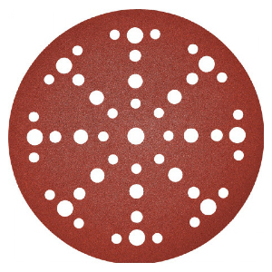 Coated Finishing Disc 320 Grit Aluminum Oxide 5 in Disc Dia 310 Units