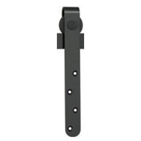 Barn Door Face Mount Roller for Mini Door, Black, WE Preferred 77219 51 136