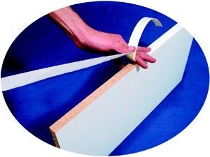 "Edgebanding PVC  Walnut, 15/16"" X , 1 LF/Roll, FastCap FE.PW.15/16-250.WA"