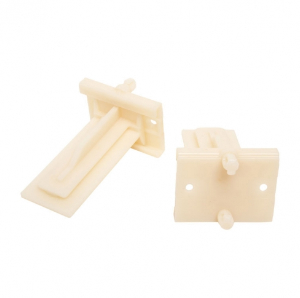 GSlide Plastic Rear Bracket with Dowels, Knape and Vogt