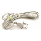 "Tresco 96"" Starter Cord, plugs into wall outlet, White, L-MPOC-PKT8-WH-1"