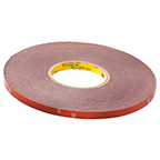 Tresco VHB Adhesive Tape Roll, 11mm x 34m, L-VHBTPE-1134-1