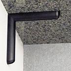 Rakks EC-0808 BRONZE, Eclipse Counter Bracket, 9 x 9, Bronze
