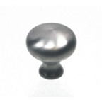"1-1/4"" Stainless Steel Knob, Aluminum Architectural Pull, Engineered Products KP31-SS"
