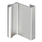 GP15-L Sliding Door Pull 6' Long Anodized Aluminum Engineered Products (EPCO) GP15-L-A