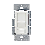 Tresco 120V LED Wall Dimmer Lutron Skylark Contour CL, White, L-CTCL-153P-WH-1