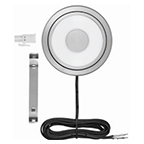 Tresco 2.5W Swing LED Puck Light, Cool White, Nickel, L-HSWNG-CNI-1