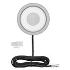 Tresco 2W Solo LED Puck Light, Warm White, Nickel, L-HSOLO-WNI-1