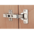 WE Preferred 0683114225961 200, 110 Degree Hinge, Full Overlay, Self-Closing, Dowel