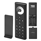 Tresco FreeDim 6-Zone Remote Control Dimmer, Black,L-WLD-6RMT-BL-1
