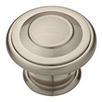 "Cabinet Shop Knob 1-3/8"" Dia Satin Nickel Liberty Hardware P22669C-SN-C"