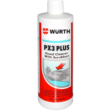15 fl. oz, PX3 Plus Hand Cleaner with Scrubbers Silicone and Solvent-Free, WE Preferred 0893901001088 12