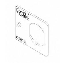 CompX National 2014-2C, Strike for Disc & Pin Tumbler Locks