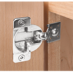 "Grass 04780-16, 108 Degree Face Frame TEC 861 Hinge, Self-Close, 1/2"" Overlay, Dowels"