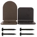 Barn Door Adjustable Center Guide, Domed Series, Satin Nickel, KV CO RT-AGD-SN