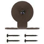 Barn Door Hanger, Monte Carlo, Top Mount, Stick Style, Satin Nickel, KV CO RT-CTM-SN