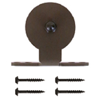 Barn Door Hanger, Monte Carlo, Top Mount, Stick Style, Black, KV CO RT-CTM-BK