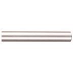 "96"" Barn Door Aluminum Round Rails, Satin Nickel, 5-Pack, KV CO RTSN-08"