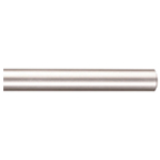 "96"" Barn Door Aluminum Round Rails, Satin Nickel, KV CO RTSN-08-A"