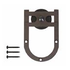 Barn Door Hanger, Rushmore, Round Track Carrier, Oil Rubbed Bronze, KV CO RT-CHS-BZ