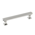 "7-5/8"" Polished Nickel Pull, Wells, Amerock BP36550PN"