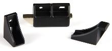 CompX Timberline DL300-BLK, Double Door Latch, Black
