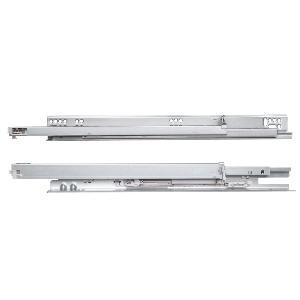 "15"" MUV+ Full  Extension Undermount Drawer Slide, 75 lb, Zinc, Knape and Vogt MUVAB 15"