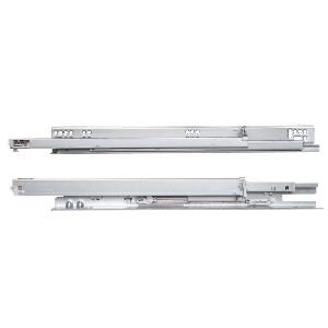 "10"" MUV+ Full  Extension Undermount Drawer Slide, 75 lb, Zinc, Knape and Vogt MUV34AB 10"