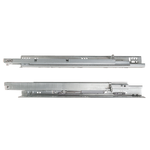 "18"" MUV+ Full  Extension Undermount Drawer Slide, 120 lb, Galvanized, Knape and Vogt MUVHDAB 18"