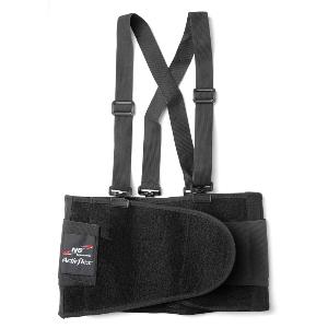 "Northern Safety Back Support, Medium, Adjustable, 1-1/4"" Removable Suspenders, 23925"