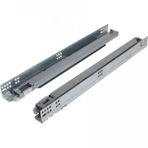 "9"" Dynapro 2-D Full Extension Soft-Close Undermount Drawer Slide for 3/4"" Drawer Grass F130101248204"