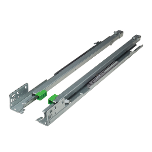 "Grass 13304-03, Maxcess 18"" Undermount Drawer Slide for Face Frame, 7/8 Extension, Soft-Close"
