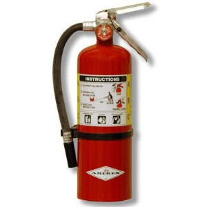 Northern Safety 3426 Fire Extinguisher, 10 Lb with Wall Bracket
