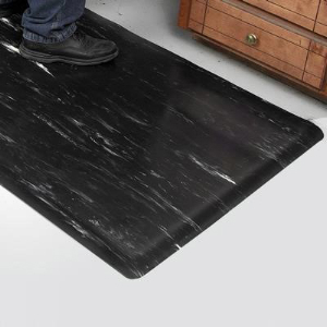 """Northern Safety 12821 Floor Mat, 2' x 3', 1/2"""" Thick, Anti-Fatigue"""