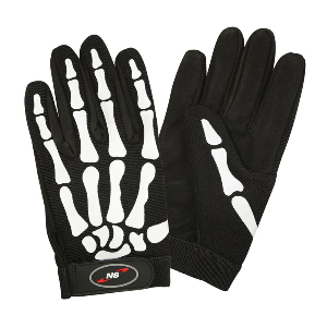Northern Safety 4614 Gloves, Synthetic Leather Palm, Mechanics Style, Large