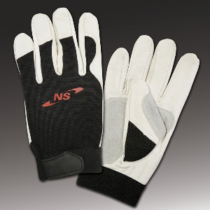 Northern Safety 4699 Gloves, Goatskin Leather, Utility Use Double Palm, X-Large