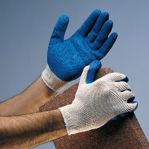 Northern Safety 22067 Gloves, Rubber Coated String Knit, General Use, Large