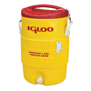 Northern Safety 7633 Igloo Cooler, 5 Gallon