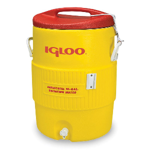 Northern Safety 7634 Igloo Cooler, 10 Gallon